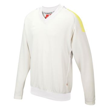 Picture of Dual Long Sleeve Sweater - Yellow