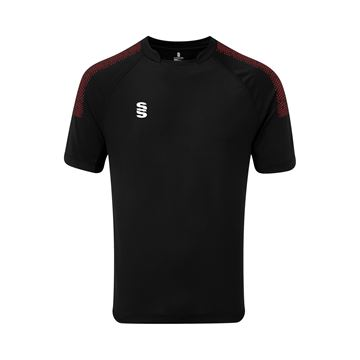 Picture of Dual Games Shirt - Black/Maroon