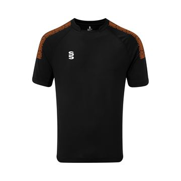 Afbeeldingen van Dual Games Shirt - Black/Orange
