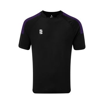 Afbeeldingen van Dual Games Shirt - Black/Purple