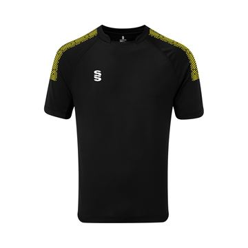 Afbeeldingen van Dual Games Shirt - Black/Yellow
