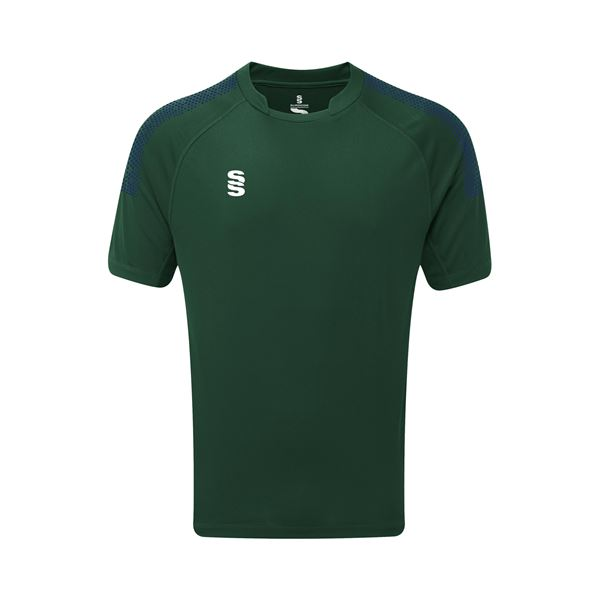 Picture of Dual Games Shirt - Bottle/Navy