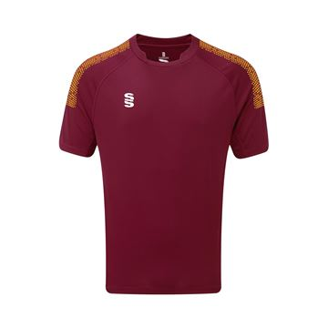 Picture of Dual Games Shirt - Maroon/Amber