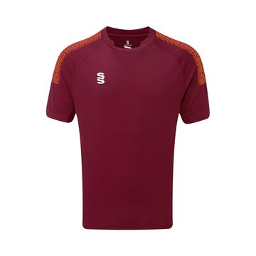 Bild von Dual Games Shirt - Maroon/Orange