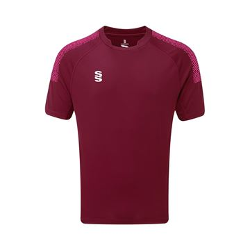 Picture of Dual Games Shirt - Maroon/Pink