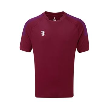 Picture of Dual Games Shirt - Maroon/Purple