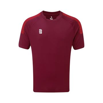 Picture of Dual Games Shirt - Maroon/Red