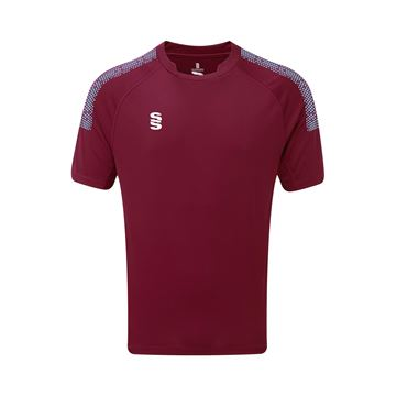 Picture of Dual Games Shirt - Maroon/Sky
