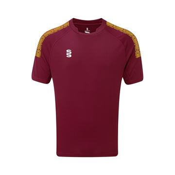 Image de Dual Games Shirt - Maroon/Yellow
