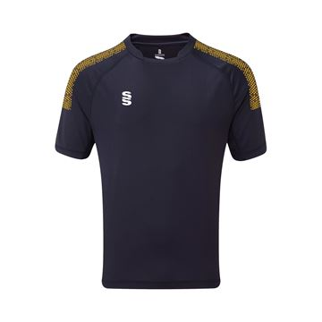 Picture of Dual Games Shirt - Navy/Amber