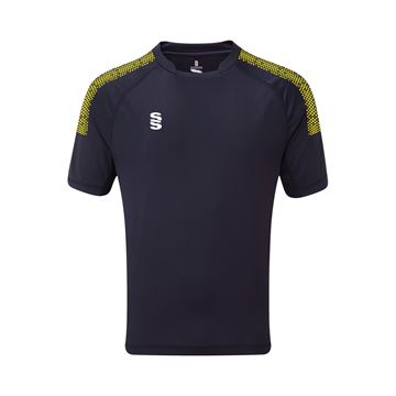 Bild von Dual Games Shirt - Navy/Yellow
