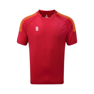 Picture of Dual Games Shirt - Red/Amber