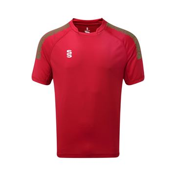 Afbeeldingen van Dual Games Shirt - Red/Emerald