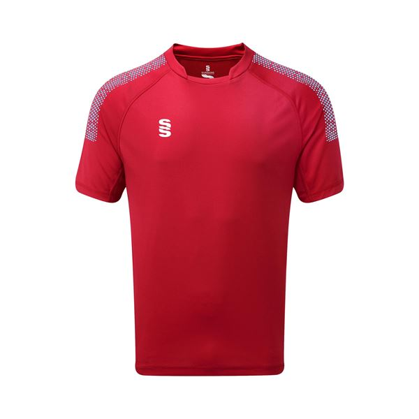 Picture of Dual Games Shirt - Red/Sky
