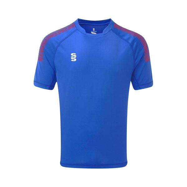 Picture of Dual Games Shirt - Royal/Red