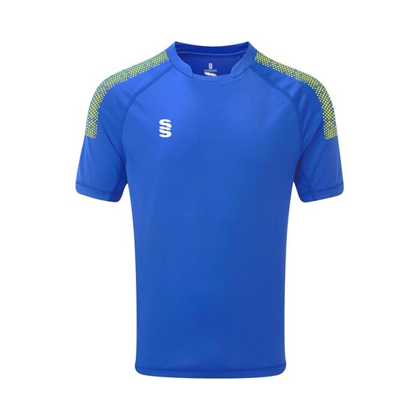 Picture of Dual Games Shirt - Royal/Yellow