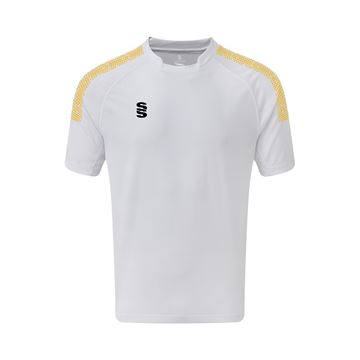 Picture of Dual Games Shirt - White/Amber
