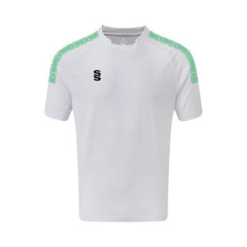 Bild von Dual Games Shirt - White/Emerald