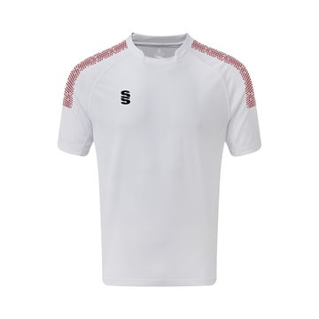 Picture of Dual Games Shirt - White/Maroon