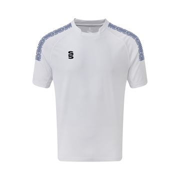 Picture of Dual Games Shirt - White/Navy