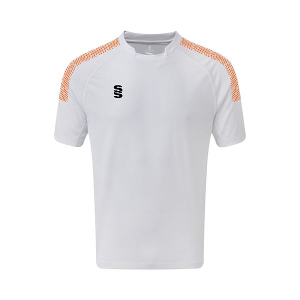 Picture of Dual Games Shirt - White/Orange