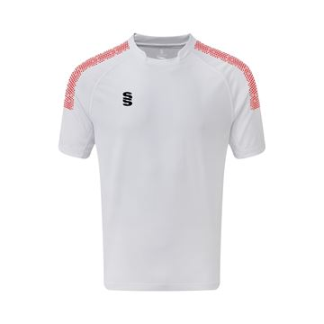 Picture of Dual Games Shirt - White/Red