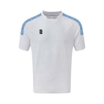 Picture of Dual Games Shirt - White/Royal