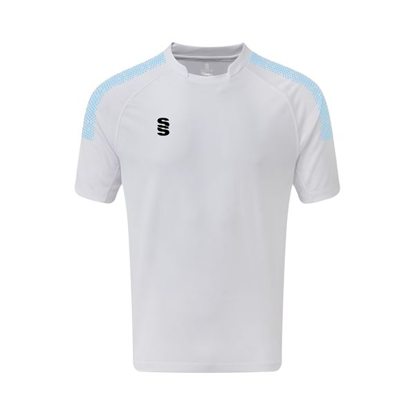 Picture of Dual Games Shirt - White/Sky