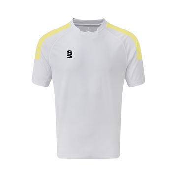 Afbeeldingen van Dual Games Shirt - White/Yellow