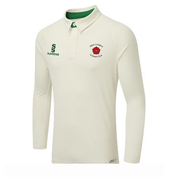 Afbeeldingen van NEW LONGTON CC TEK LONG SLEEVE CRICKET SHIRT