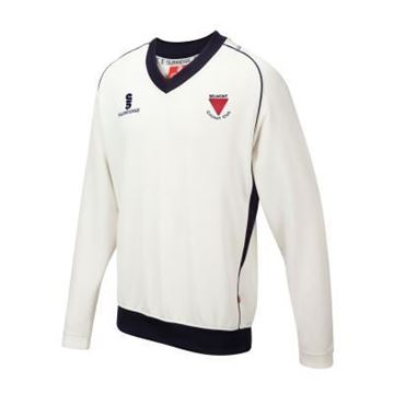 Picture of BELMONT CC LONG SLEEVE CRICKET SWEATER