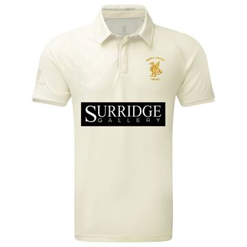 Picture of Queens College Slim Fit Short Sleeved Playing Shirt
