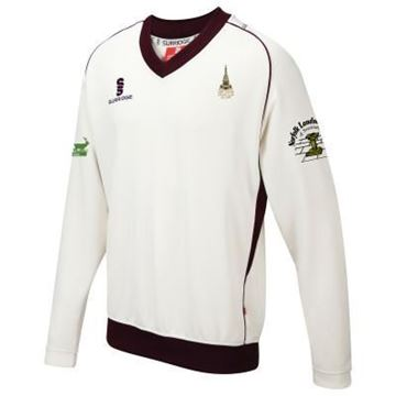 Afbeeldingen van Snettisham Cricket Club Junior Curve Long Sleeved Sweater