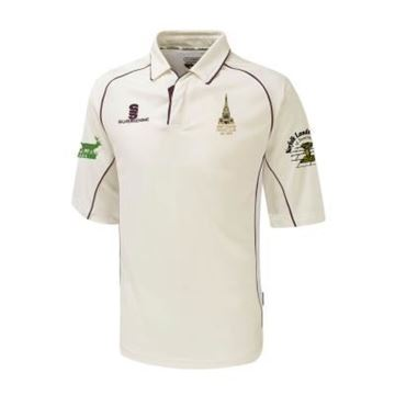 Afbeeldingen van Snettisham Cricket Club Senior 3/4 sleeve Premier Playing Shirt