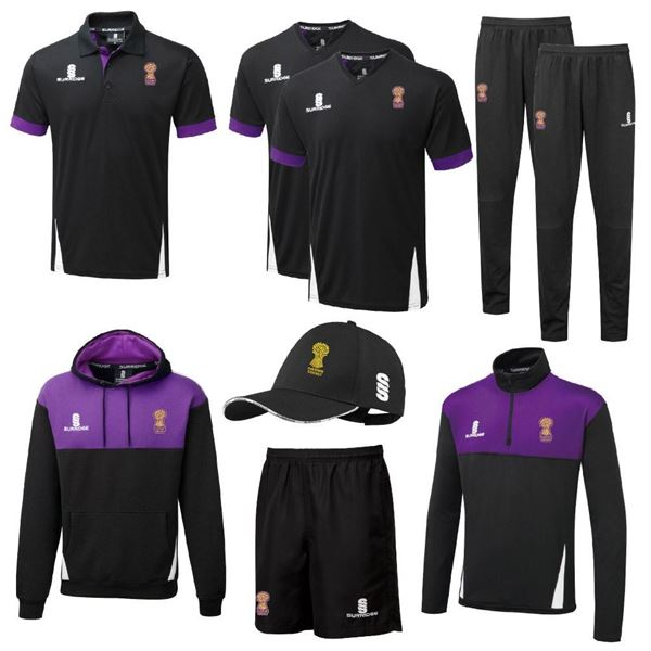 Picture of Cheshire Cricket Board - Girls Coloured Clothing Bundle