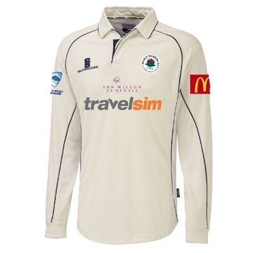 Image de Manly Warringah - L/S Premier Playing Shirt - White/Navy