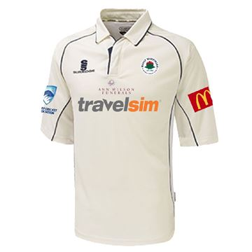 Picture of Manly Warringah - 3/4 Premier Playing Shirt - White/Navy