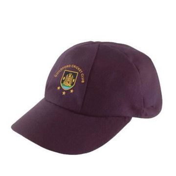 Image de Guildford CC English Playing Cap - Maroon