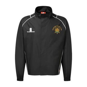 Picture of Guildford CC Full Zip Rain Jacket Black