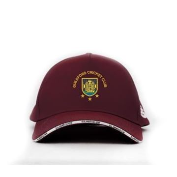 Image de Guildford CC Playing Baseball Cap - Maroon