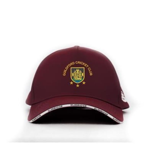 Picture of Guildford CC Playing Baseball Cap - Maroon