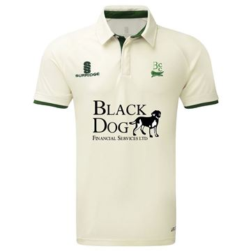 Picture of Buckie Cricket Club Tek Short Sleeve Playing Shirt