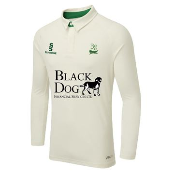 Picture of Buckie Cricket Club Tek Long Sleeve Playing Shirt
