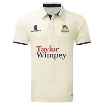 Image de Weaverham Cricket Club Short Sleeved Junior Ergo Cricket Shirt