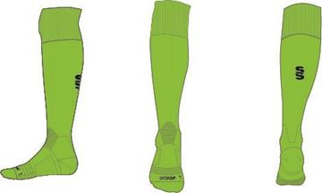 Image de LIME/BLACK SOCK