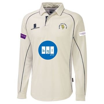 Picture of BURGHLEY PARK CC PREMIER LONG SLEEVE SHIRT