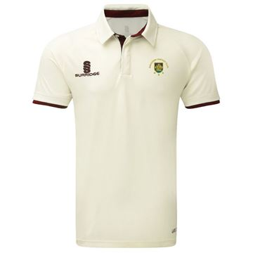 Image de Guildford CC Ergo Short Sleeve Maroon Trim Shirt