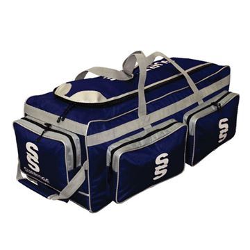 Image de Guildford CC Large Holdall - Navy/Silver/White