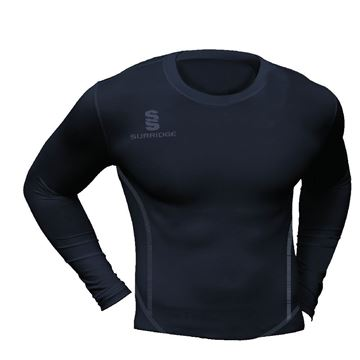 Image de Guildford CC Premier Long Sleeved Sug - BLACK