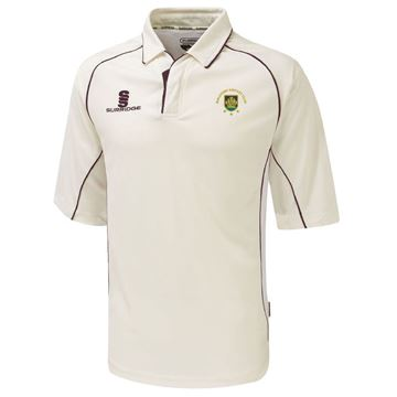 Picture of Guildford CC Premier 3/4 Sleeve Maroon Trim Shirt